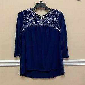 Cato Royal Blue Blouse